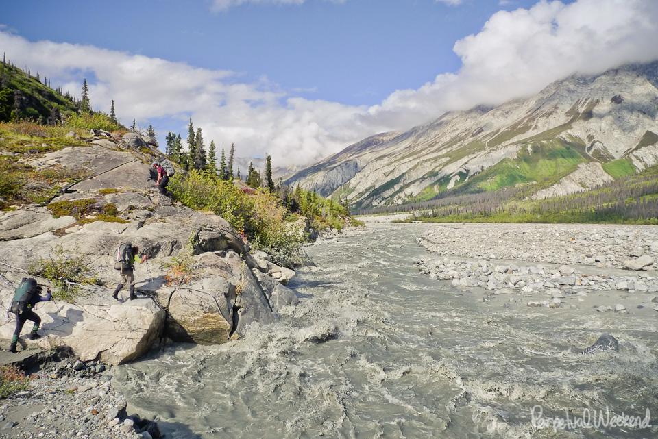 goat creek, granite range, backpack, hike, wrangell st elias