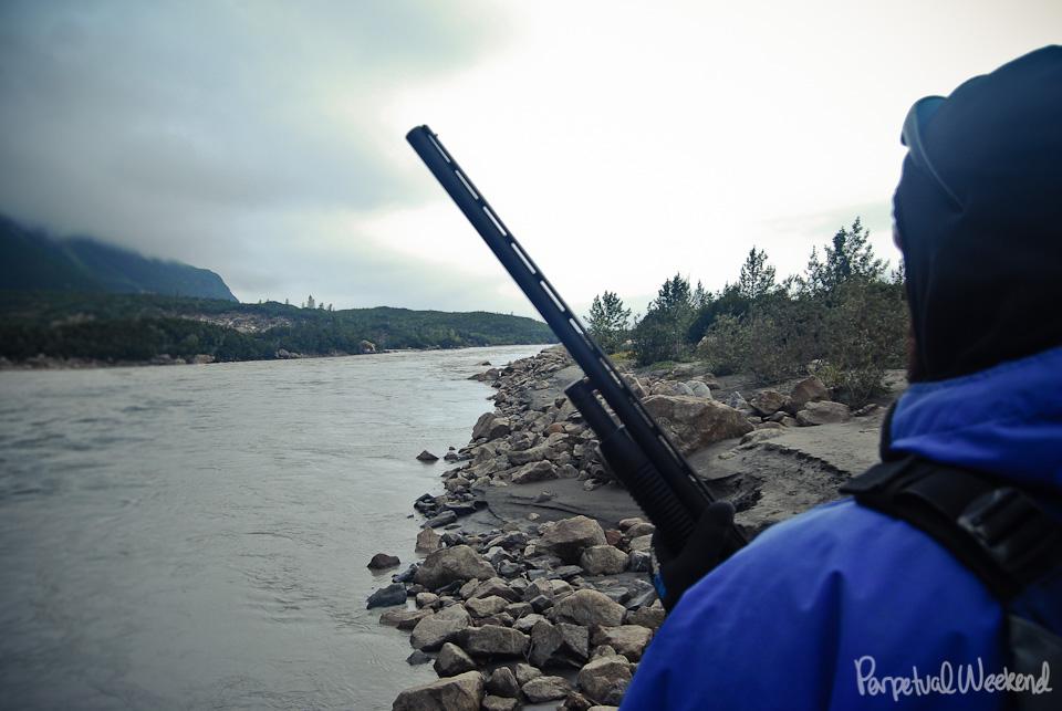 12 guage shotgun slug, copper river, alaska