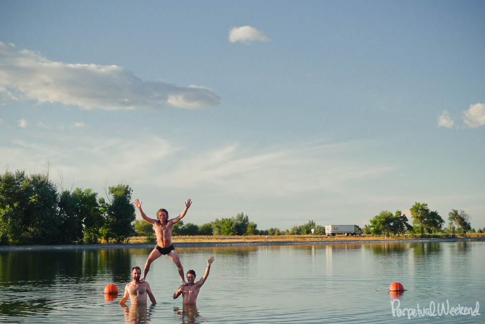 blackfoot, Idaho, lake swimming