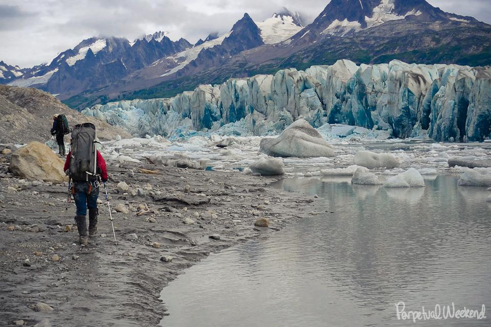 granite creek alaska tana glacier