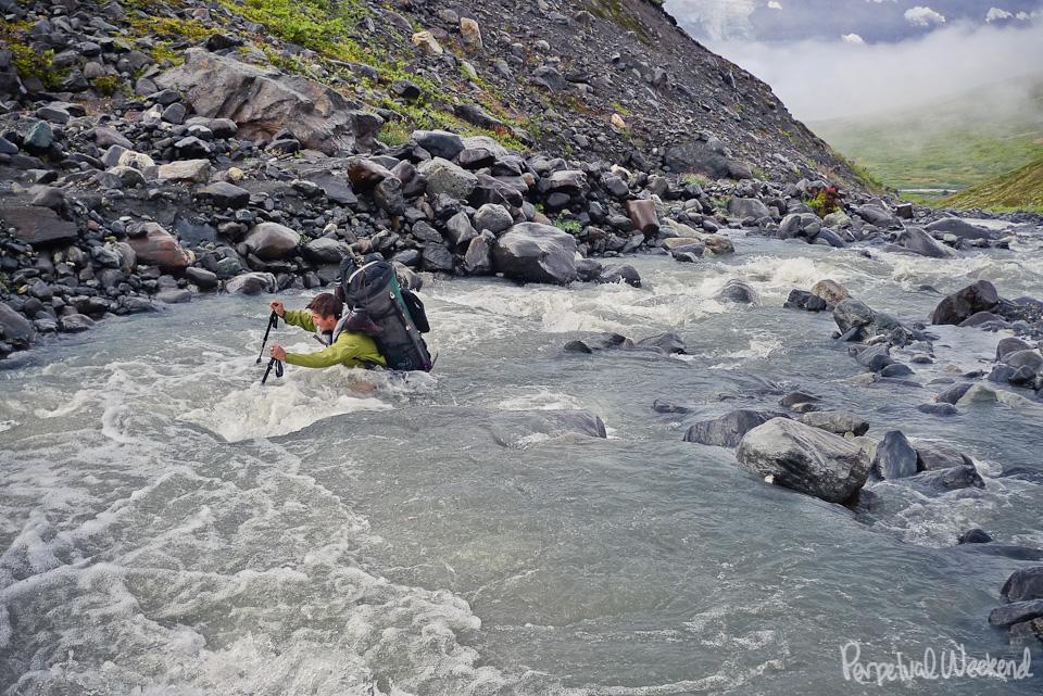 deep river crossing alaska