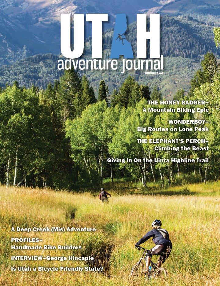 Utah Adventure Jornal Cover Fall 2012