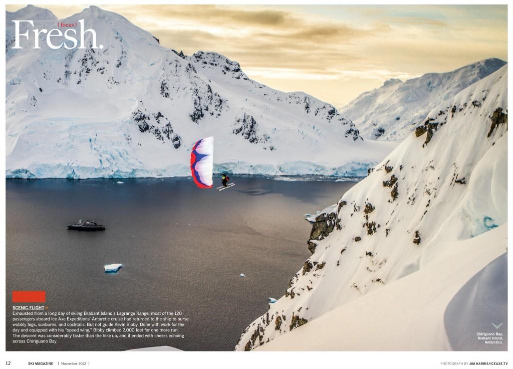 Ski Magazine Antarctica Spread