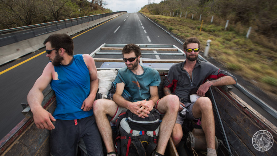 Hitchhiking to Veracruz