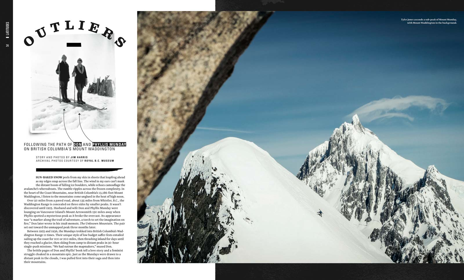 Powder Magzine Munday Mt Waddington British Columbia