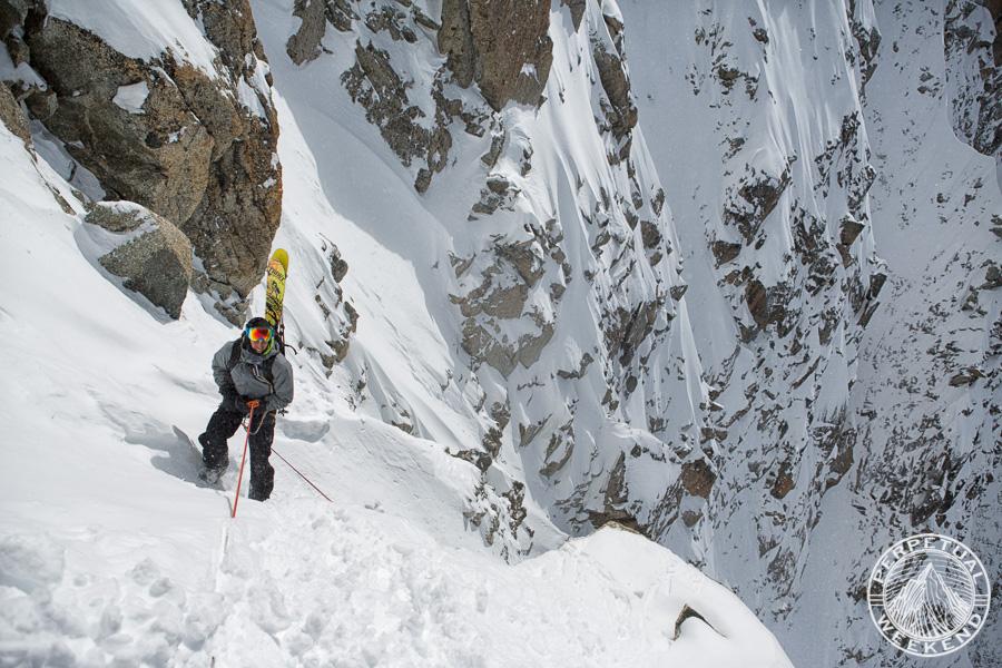 Davide de Masi in Chamonix, France