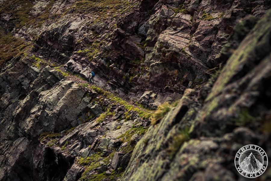 Brendan Leonard hikes the Phantom Terrace